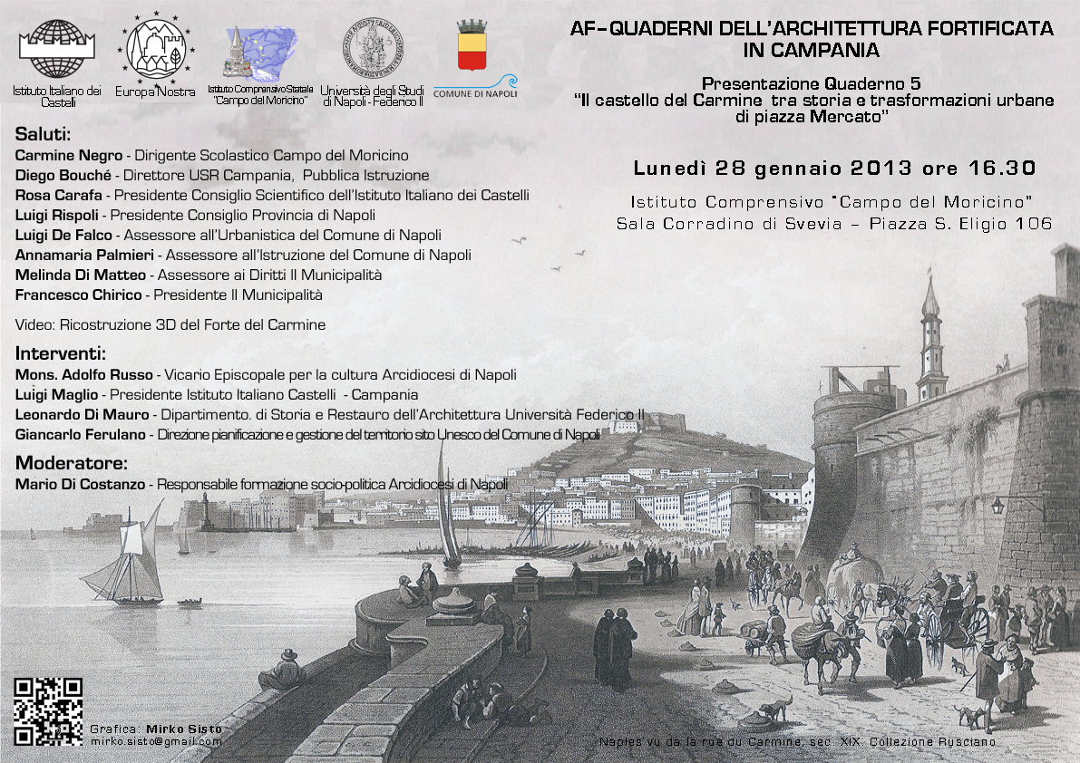 Presentazione del Quaderno sul Castello del Carmine (b)