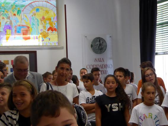 17. Sala Corradino Canto degli alunni