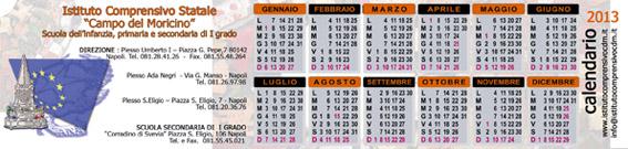 retro con calendariow